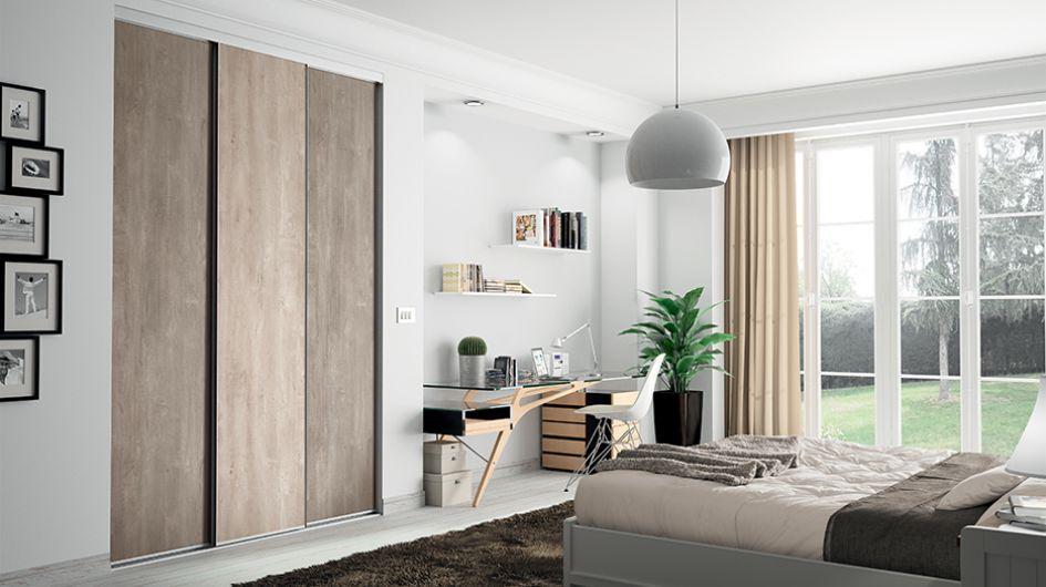 Dressing pour votre chambre portes de placard pour chambre - Castorama placard chambre ...