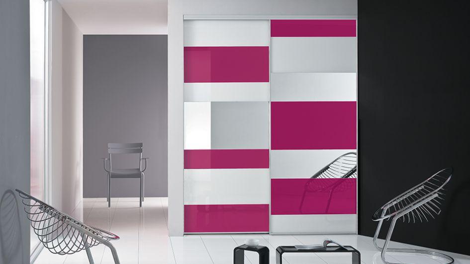 Placard Pour Une Entrée - Porte placard coulissante de plus porte interieur design
