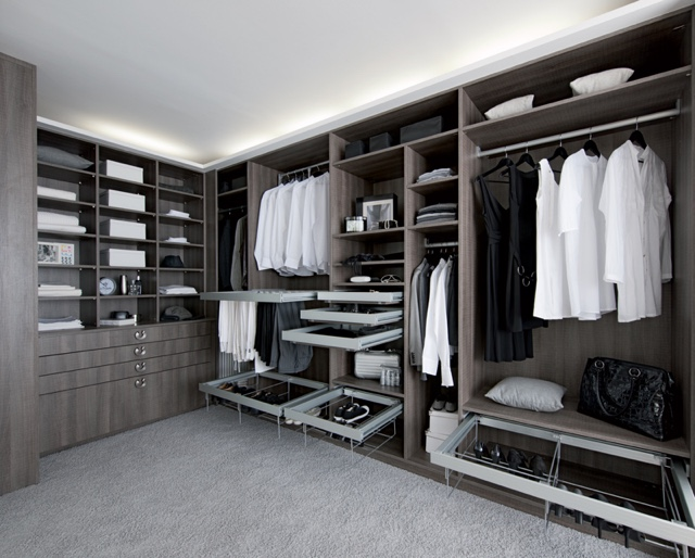 am nagement dressing dressing pour une pi ce d di e. Black Bedroom Furniture Sets. Home Design Ideas
