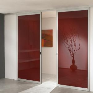 Porte coulissante cloison coulissante orion dressings - Separation piece porte coulissante ...