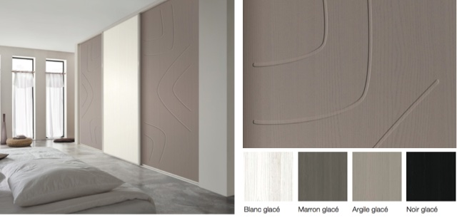 porte de placard graphic. Black Bedroom Furniture Sets. Home Design Ideas