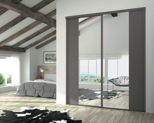 porte de placard coulissante castorama sur mesure maison design. Black Bedroom Furniture Sets. Home Design Ideas