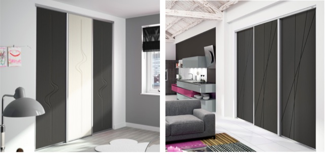 porte de placard graphic. Black Bedroom Furniture Sets. Home Design Ideas